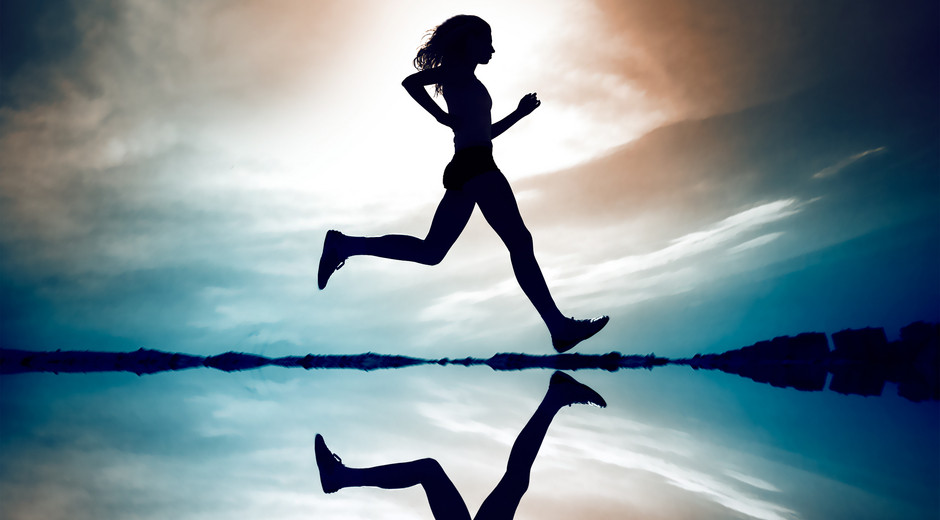 Fit People Running