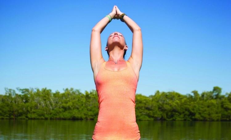 paddle-yoga-pose