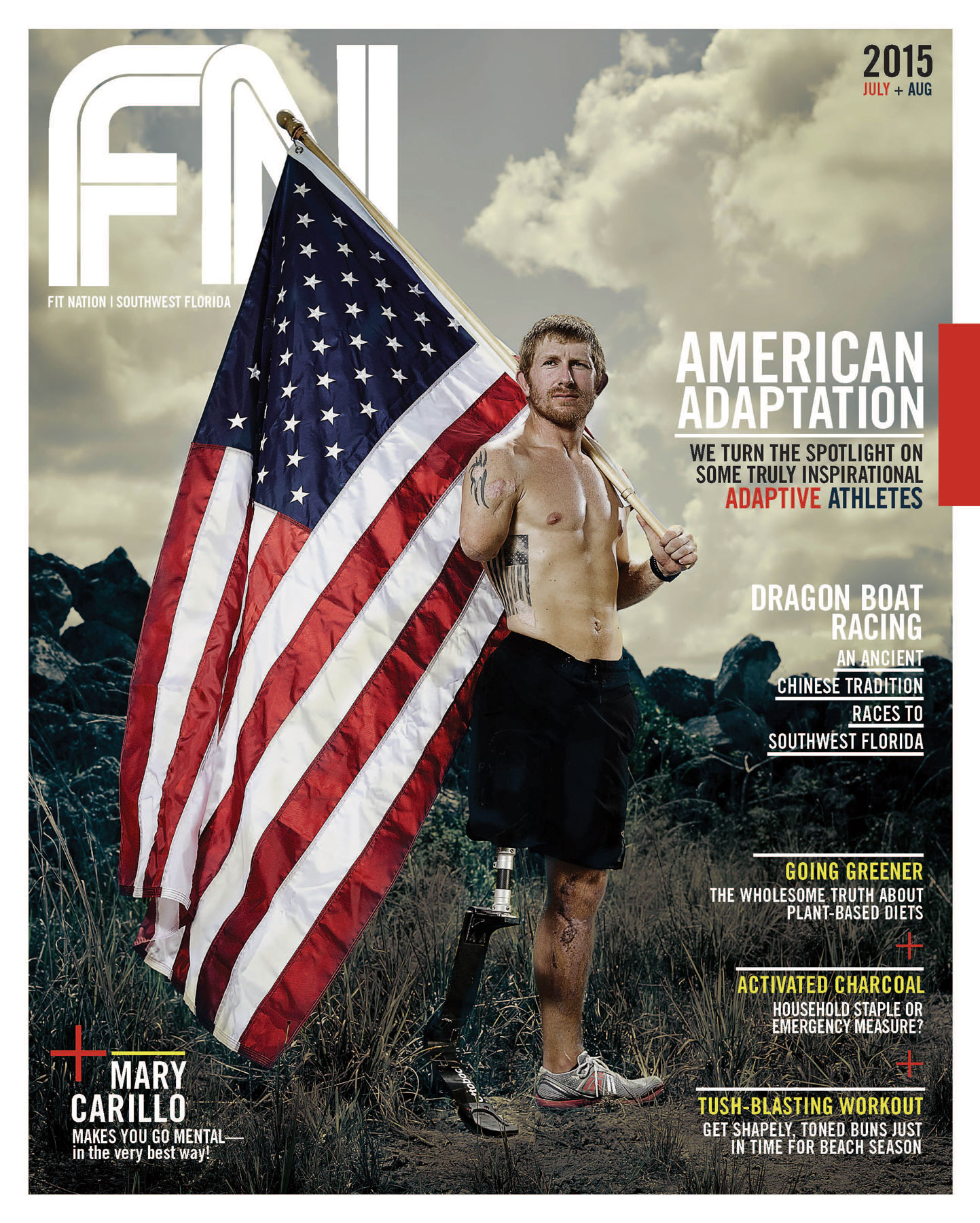 Fit Nation Magazine - July/August 2015
