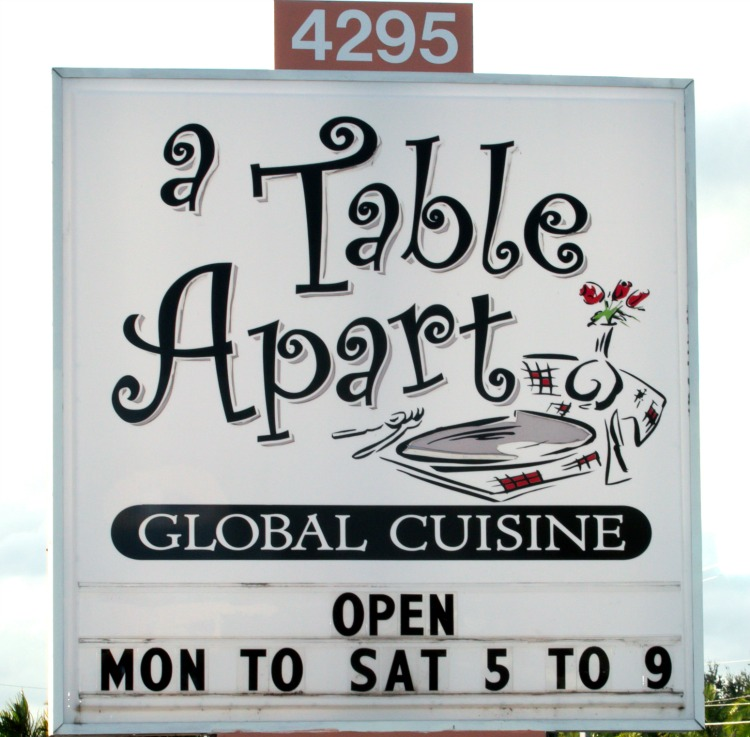 A table apart florida