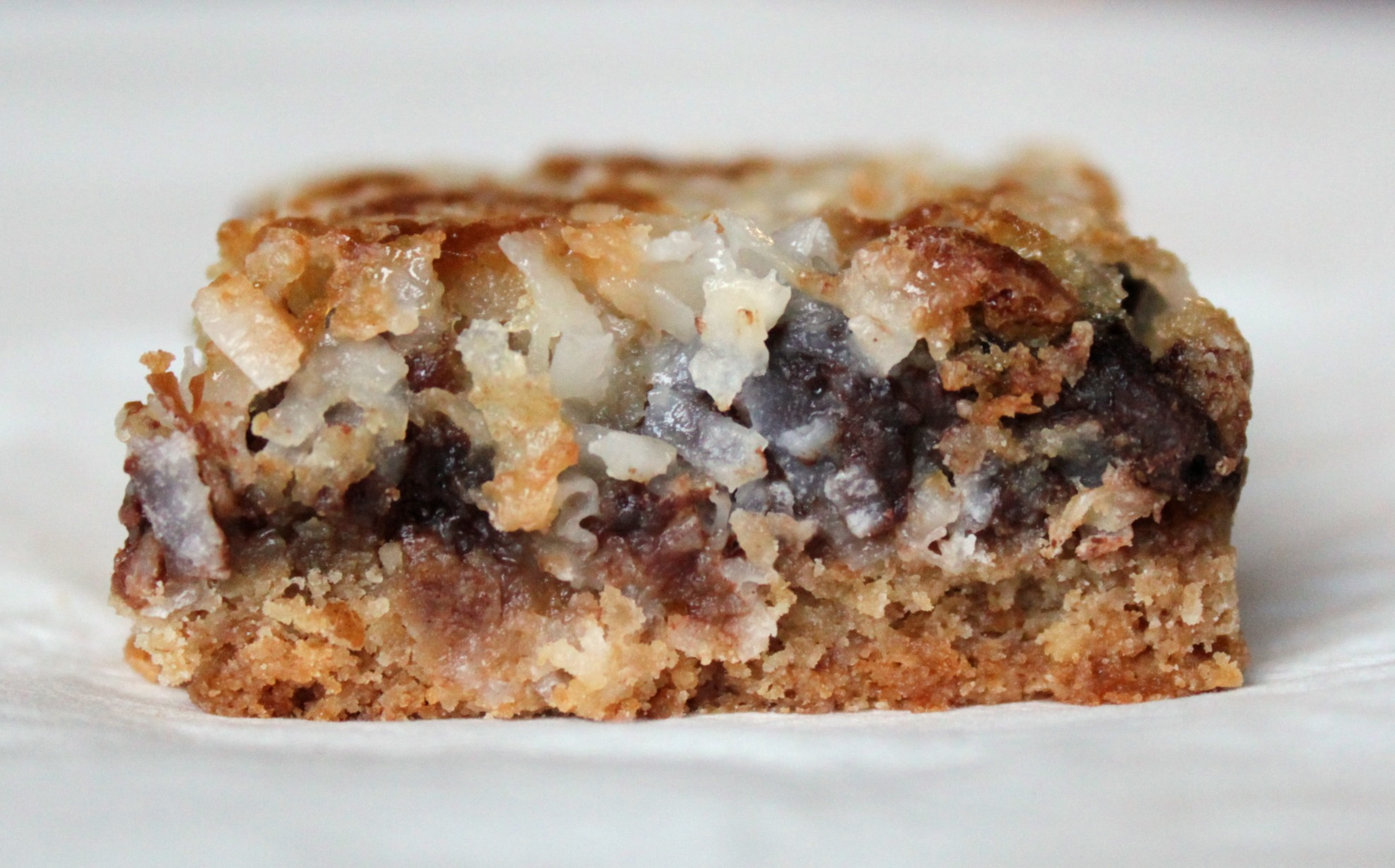 Coconut Chocolate Chip Bars Graham Cracker Crust
