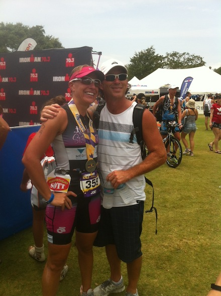 Husband and Wife at Ironman