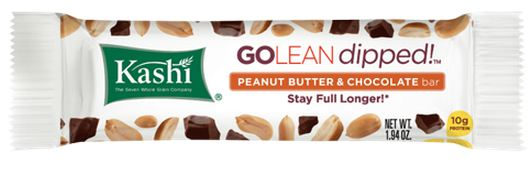 Kashi Go Lean Dipped Peanut Butter Chocolate