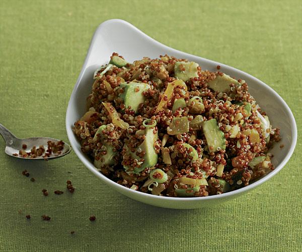 Quinoa and Avocado