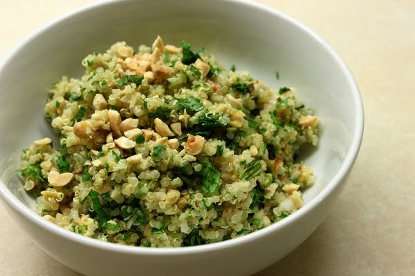 Lemon Mint Quinoa Salad for Meatless Monday