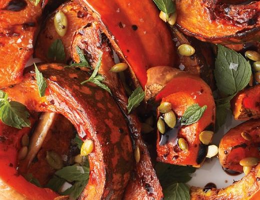 roasted-squash-with-mint-and-toasted-pumpkin-seeds