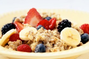 Oatmeal and Berries
