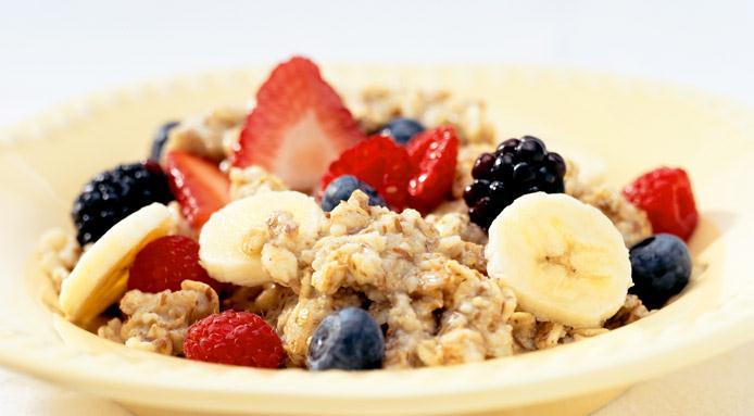 Oatmeal and Berries