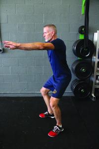 Starting a squat