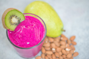 Dragon Fruit Smoothie Recipe courtesy of Pitaya Plus