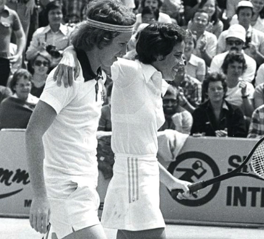 mary carillo and john mcenroe 1977