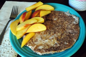 pbfingers - egg white and oatmeal protein pancake 2