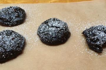 Dark Chocolate Avocado cookies