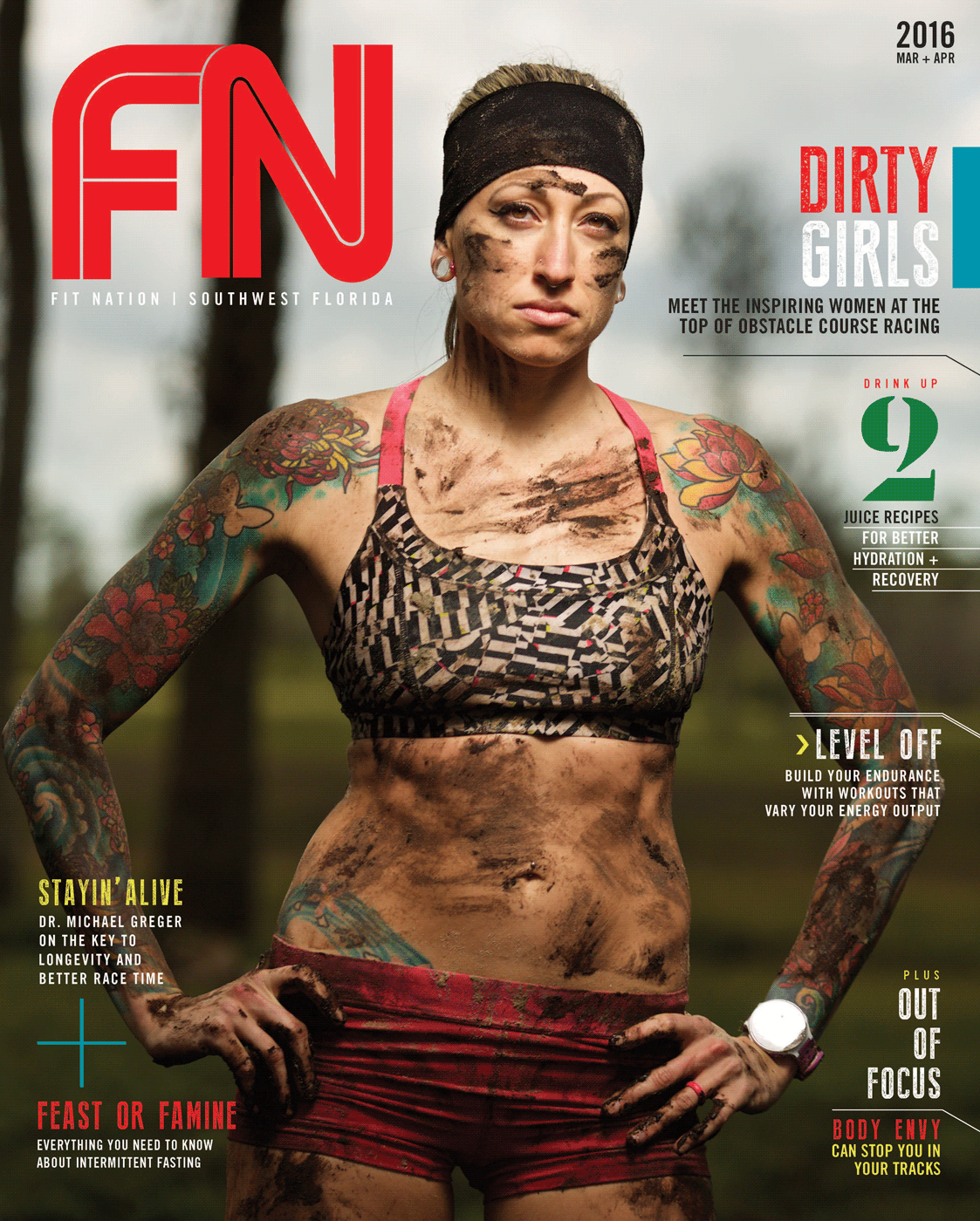Fit Nation Magazine - March/April 2016