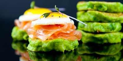 Pea Pancakes Healthy Gut Fit Nation